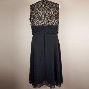 Scarlett Nite Dresses - Scarlett Nite Dress Black Lace Surplice Bodice